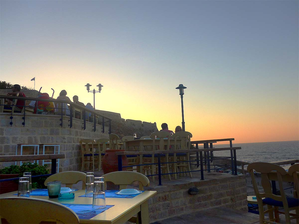 Sunset Restaurant Rethymnon