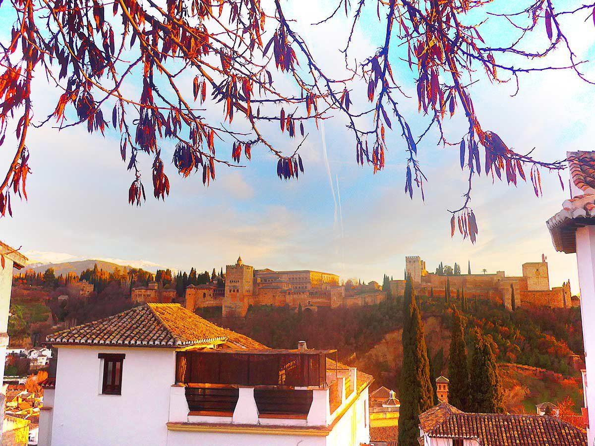 Best view in Granada - Alhambra
