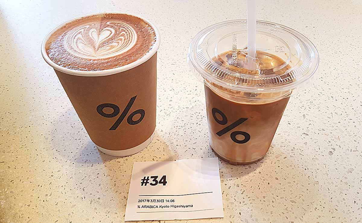 Aracica 100% coffee