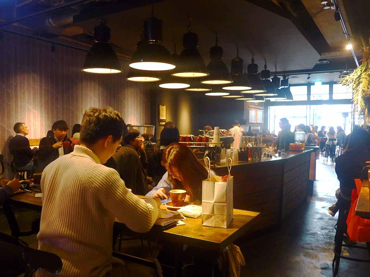 Nozy cafe interior