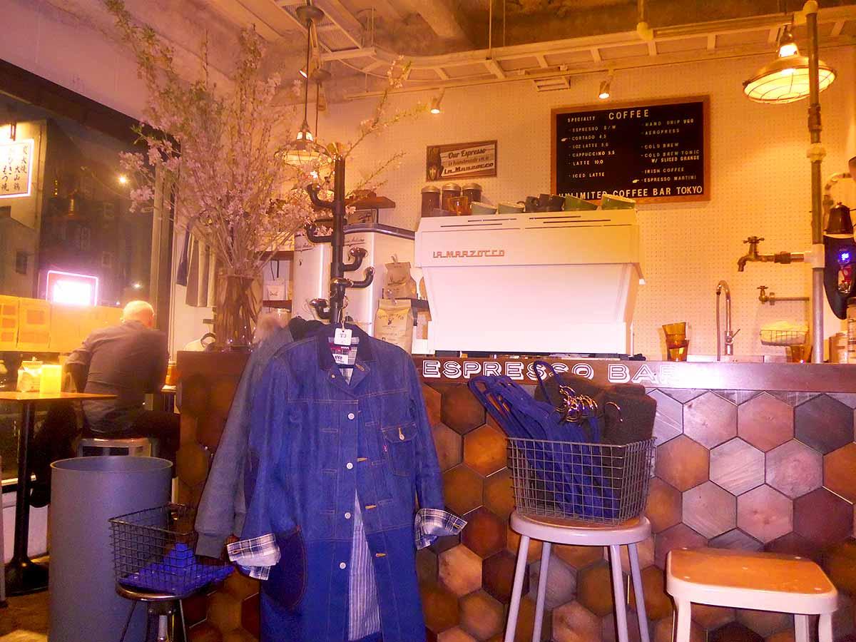 Unlimited coffee shop Tokyo