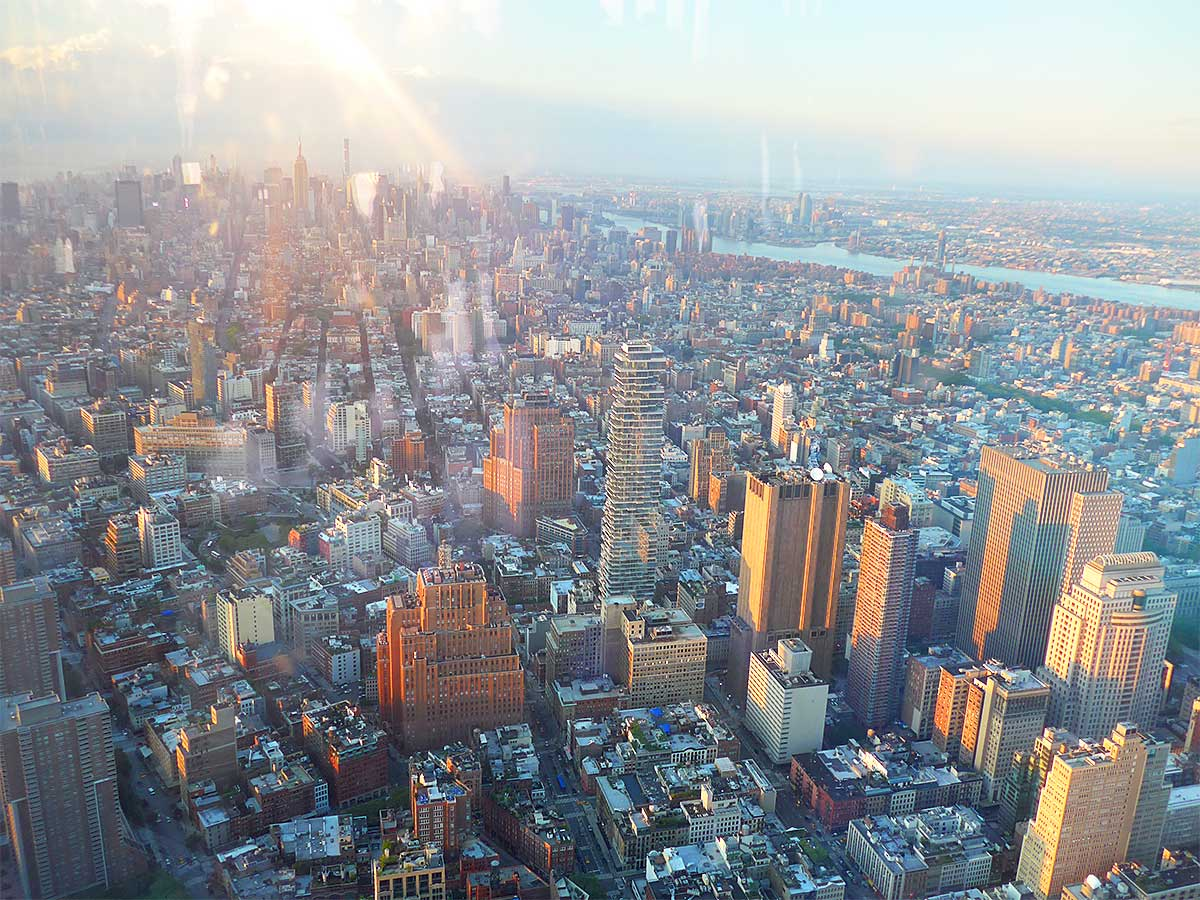 One Dine At One World Trade Center Observatory New York