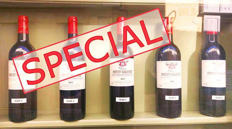 Bordeaux wine special