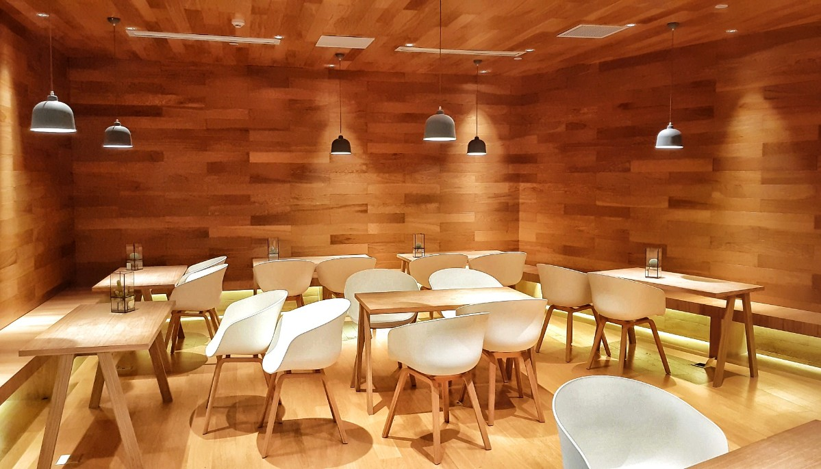 Greybox coffee shop in Deji Plaza Nanjing