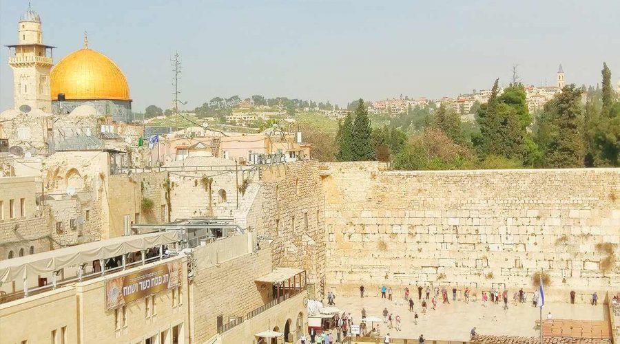 Jerusalem city center sightseeing