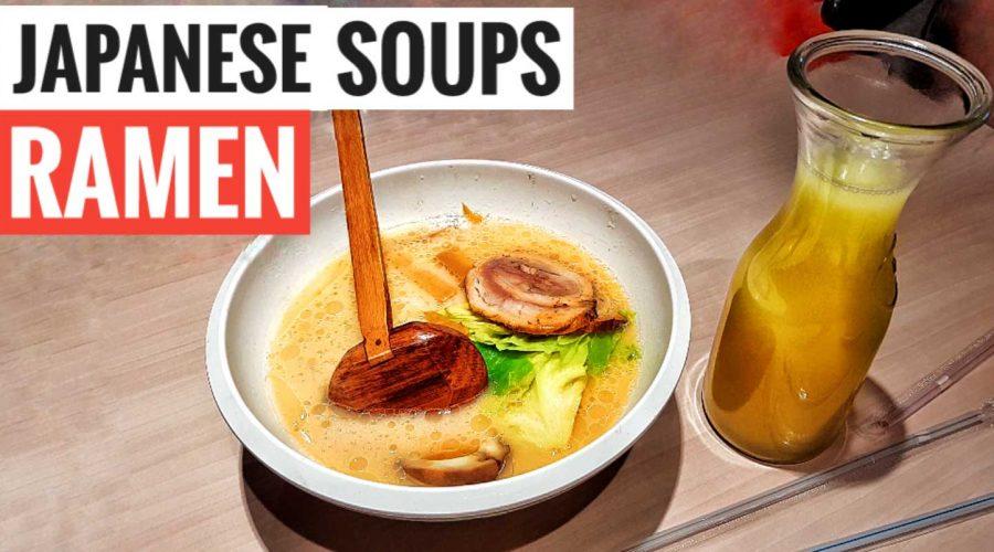 Ajisen Japanese Ramen soup