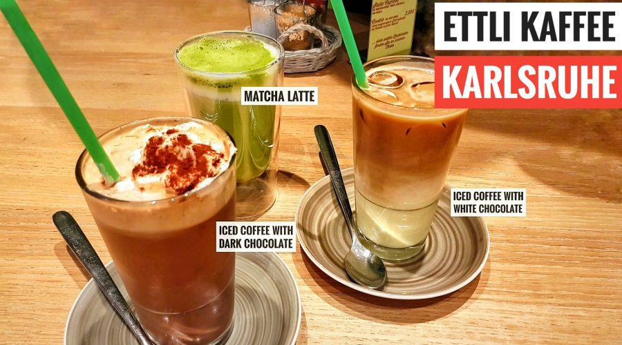 Ettli Cafe iced coffee drinks