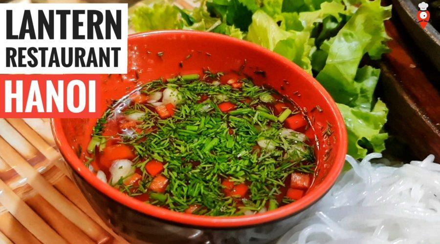 Lantern Restaurant Hanoi